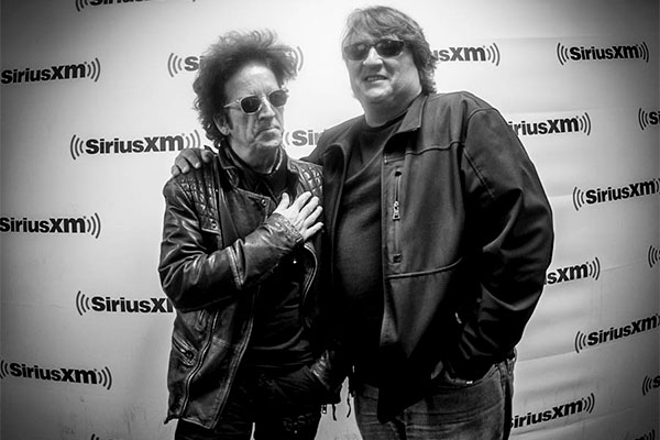 Joe and Willie Nile at XM/Sirius E Street Channel