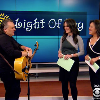Joe Appears On CBS New New York To Preview Light Of Day Winterfest In Asbury Park